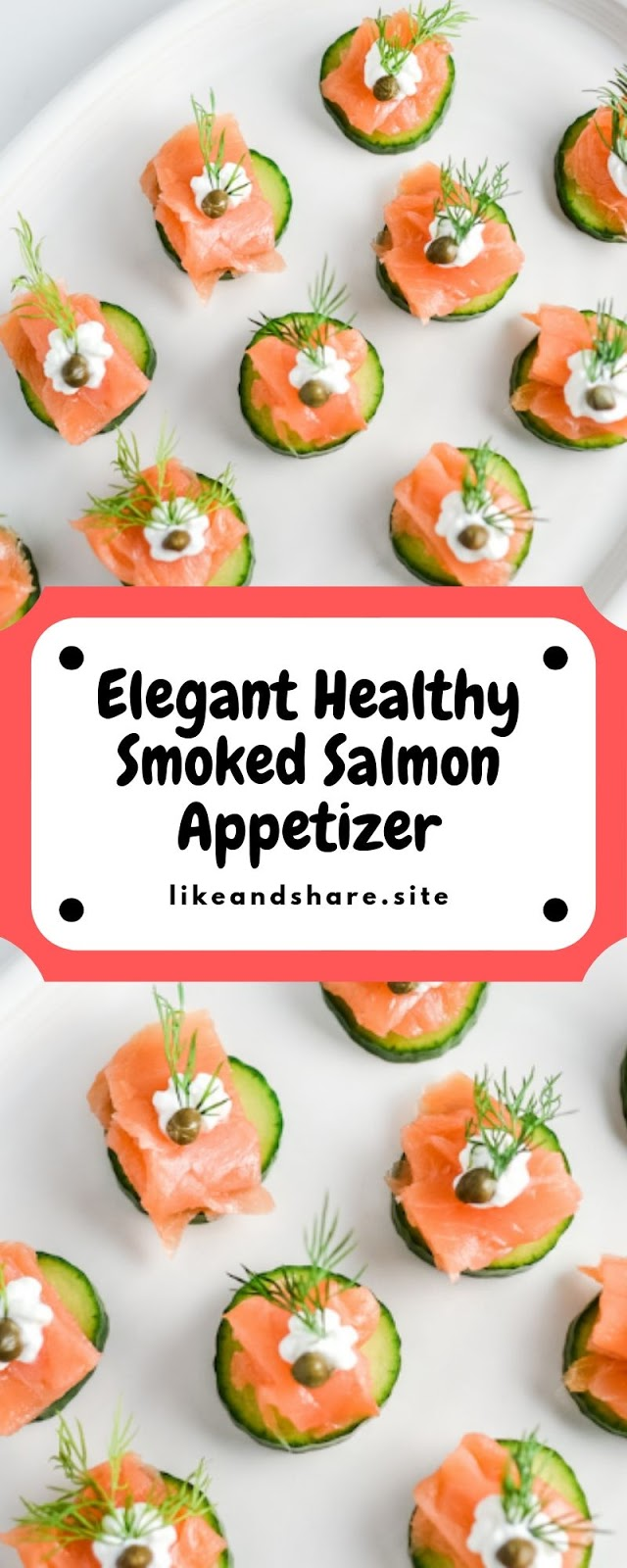 Elegant Healthy Smoked Salmon Appetizer