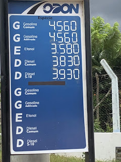 Petrobras anuncia aumento de 3% no preço médio da gasolina, a partir desta quinta