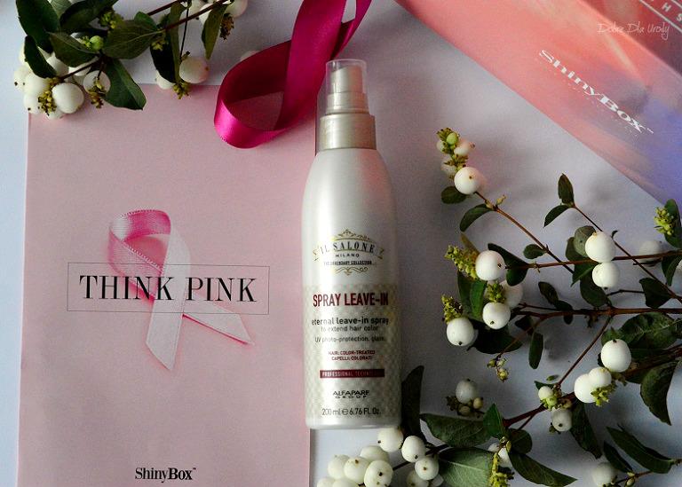 THINK PINK by ShinyBox - IL SALONE MILANO Odżywka bez spłukiwania do włosów farbowanych