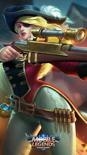 Lesley Royal Musketeer Heroes Marksman Assassin of Skins V3