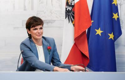 رئيسة,الحزب,الاجتماعي,النمساوي,تهنئ,مسلمي,النمسا