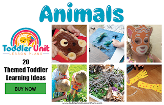 Toddler lesson plans - animals