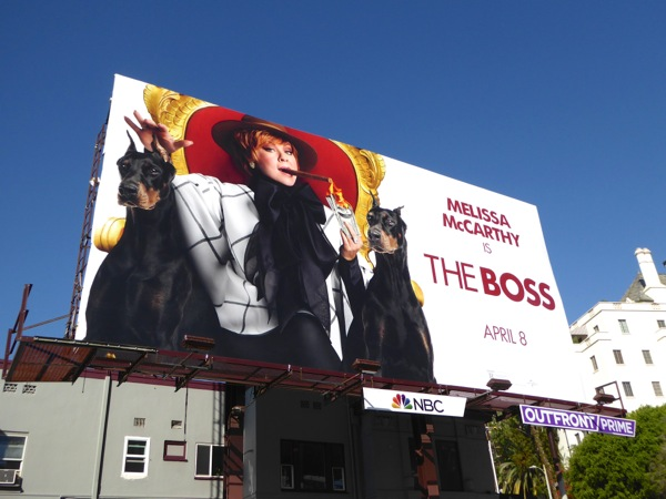 Melissa McCarthy The Boss movie billboard