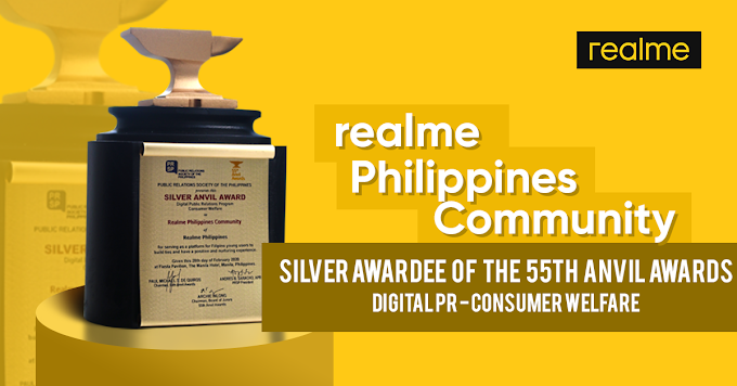 Realme Receives First Anvil Award