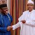 """Okorocha Visit Buhari In Aso Rock """"Certificate Of Return"""""""