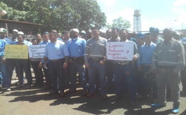 Siderúrgica que expropió Hugo Chávez en Bolívar tiene a sus trabajadores pasando hambre