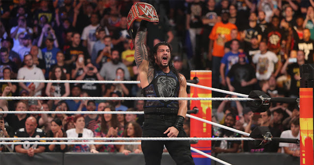 When will Roman Reigns compete for the WWE World Title once again?