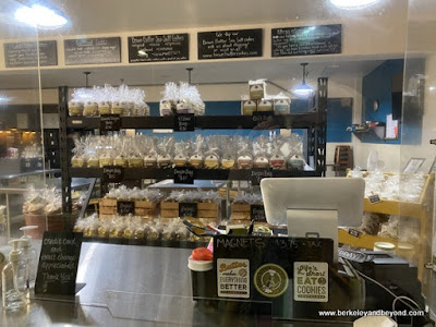 interior of Brown Sugar Cookie Company in Cayucos, California