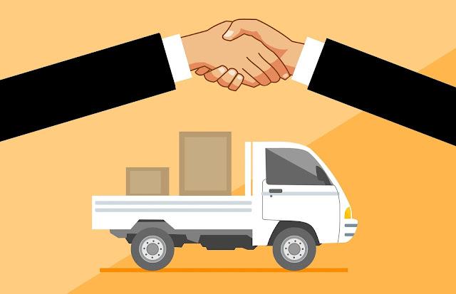 perusahaan logistik