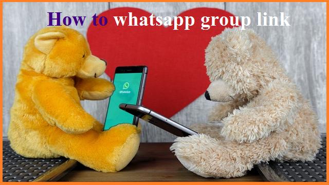 whatsapp me group ka link kaise create karte hai