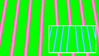 Animated color changing stage & lights loop on a on a green background. Free 4k video download..