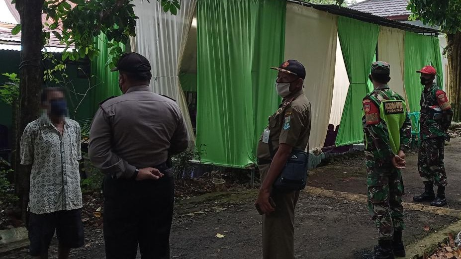 Tim Satgas Covid-19 Kecamatan Bobotsari Bubarkan Acara Hajatan di Dua Lokasi