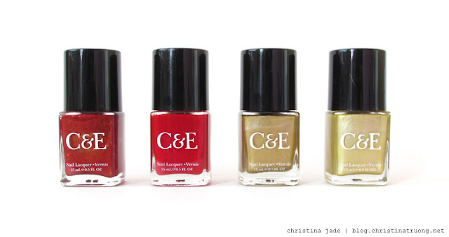 Get Inspired: Chinese New Year Nail Polish Crabtree & Evelyn