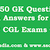 Top 50 GK Questions for Competitive Exams 2017 2018