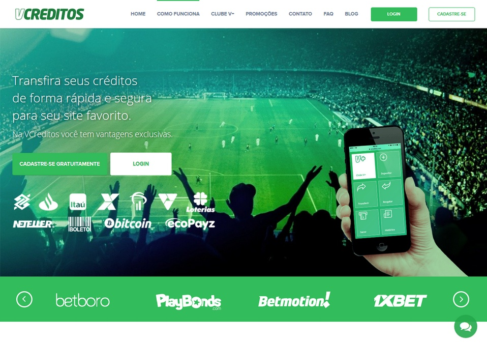 Vcreditos bookmakers