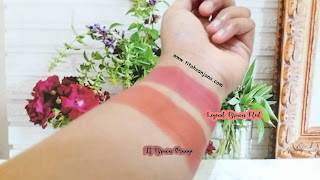 PERIPERA INK THE AIRY VELVET #6 IT BROWN ORANGE & #9 LEGEND BROW RED
