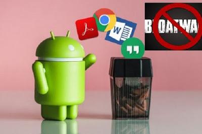 Cara Hapus Aplikasi Bawaan Di Android