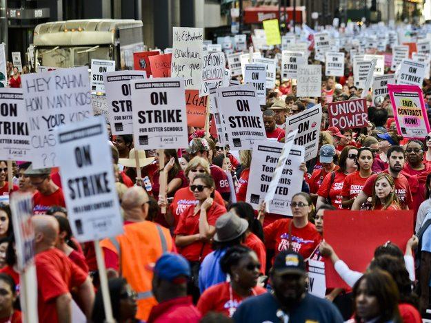 Strajk Nauczycieli W Chicago