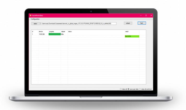 برنامج miflash tool فلاش