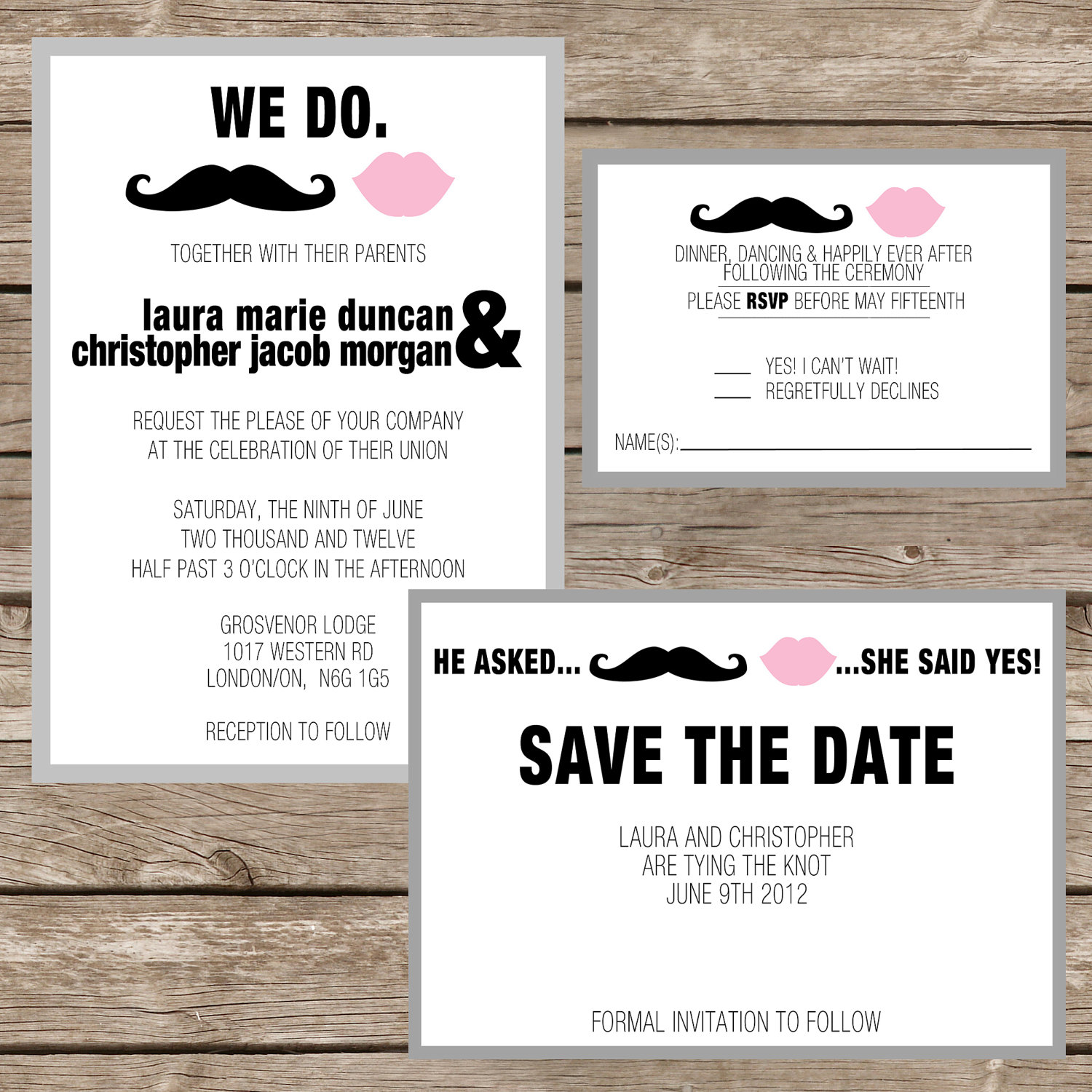 When Should Wedding Invitations Be Ordered: Destination Wedding Invitations: Five Destination Wedding