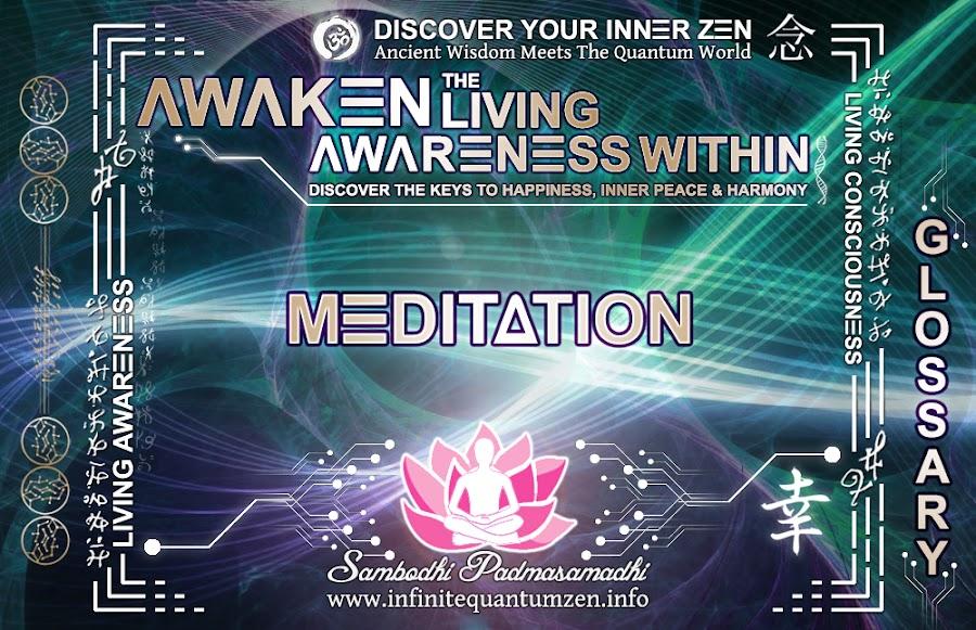 Meditation - Awaken the Living Awareness Within, Author: Sambodhi Padmasamadhi – Discover The Keys to Happiness, Inner Peace & Harmony | Infinite Quantum Zen