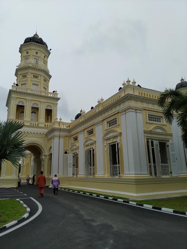 Struktur Bangunan Masjid Sultan Abu Bakar Johor Berusia Lebih 100 Tahun