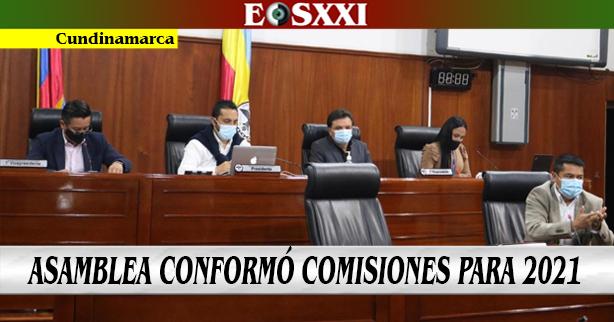 Asamblea departamental definió Comisiones de trabajo para 2021