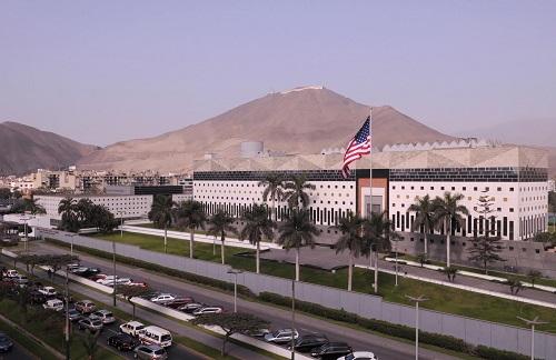 Embajada de los Estados Unidos en Perú