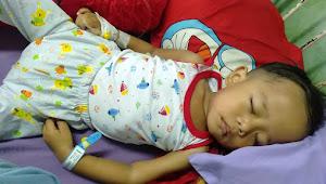 Balita 3 tahun di Desa Keranggan Penderita Leukemia akut Butuh Uluran Tangan Pemerintah Daerah