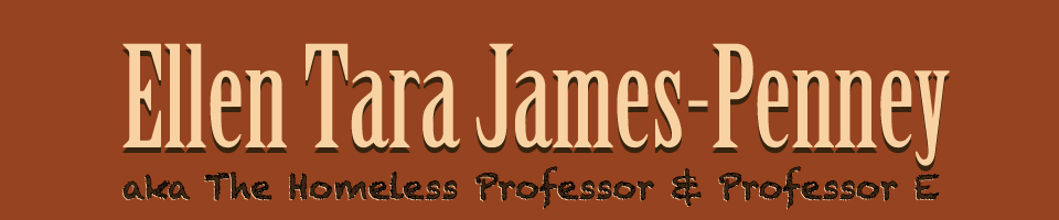 Ellen Tara James-Penney - The Homeless Professor