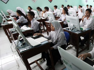 Contoh Soal Memvariasikan Kata - UNBK SMP 2020