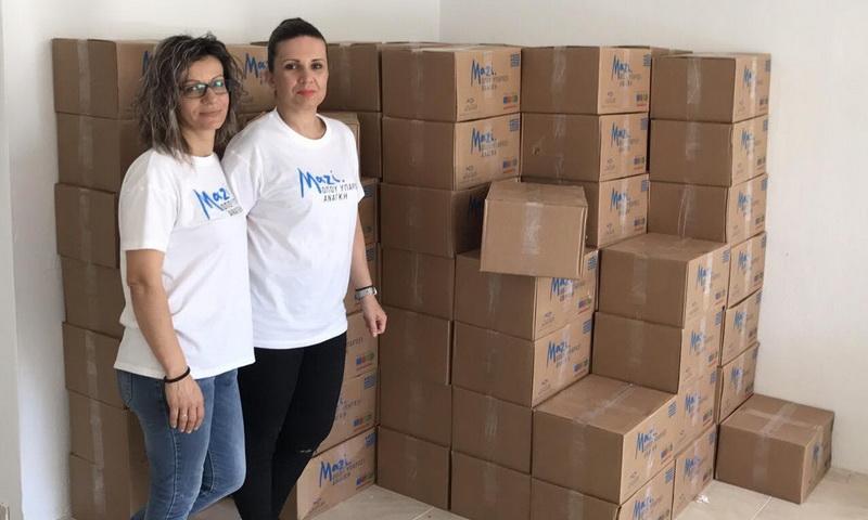 Διανομή τροφίμων σε απόρους του Δήμου Αλεξανδρούπολης από την ΑΠΟΣΤΟΛΗ και τον ΜΑΣΟΥΤΗ