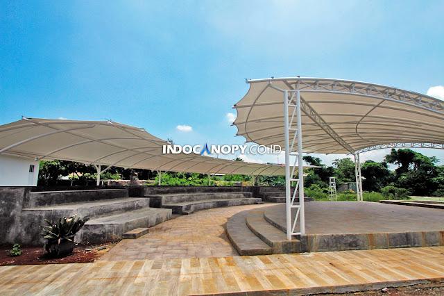 canopy membrane sekolah