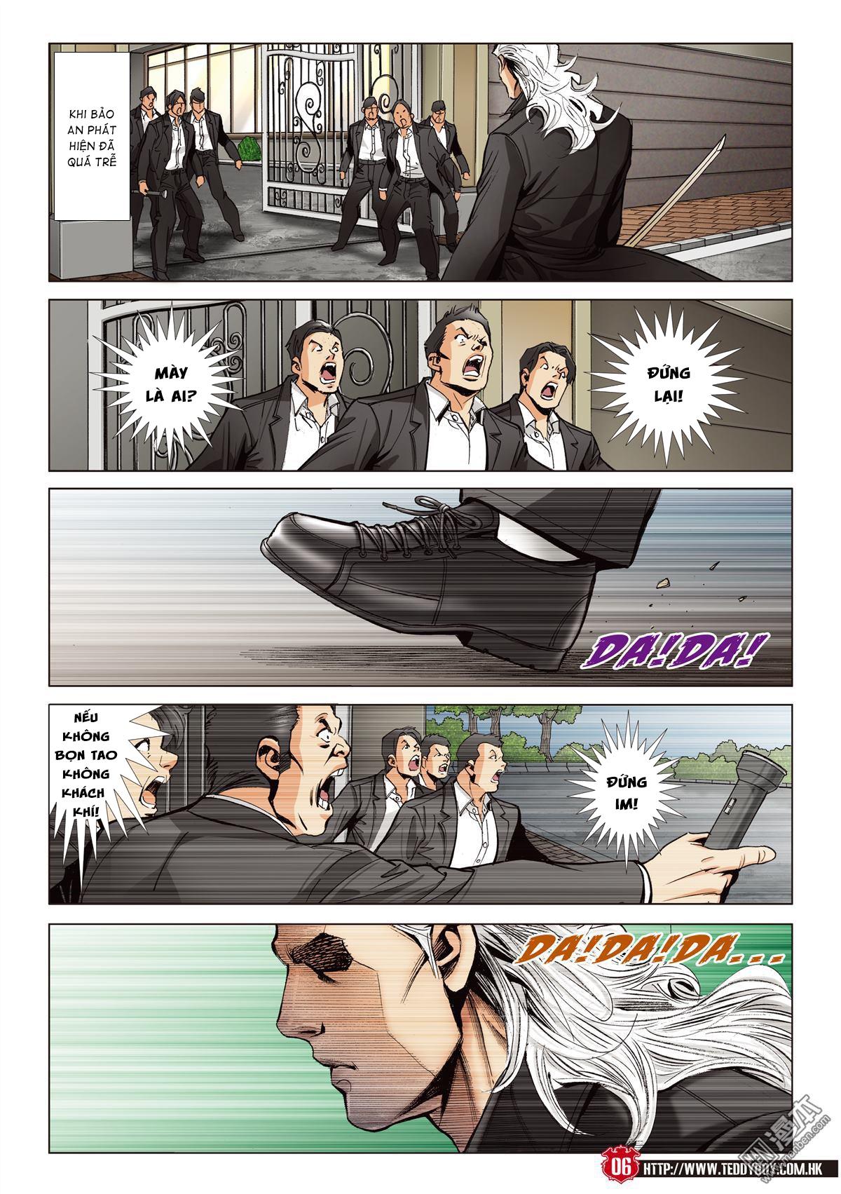 Người Trong Giang Hồ chapter 2067: ánh tỉ làm phản trang 4