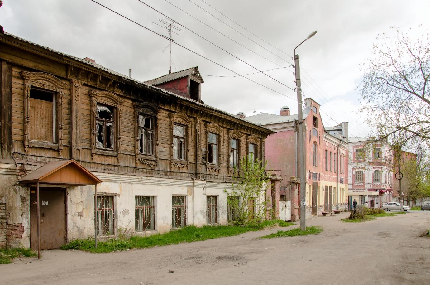 Улица в городе Шуя