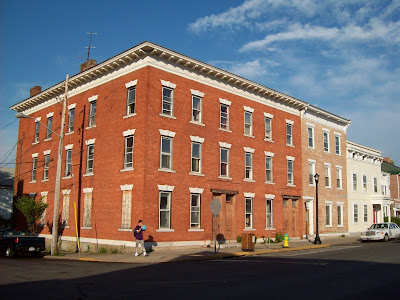 In 1903 Theodore Brousseau A Brick Manufacturer Purchased The Lot At Northeast Corner Of Warren And Second Streets Where He Erected Block Two