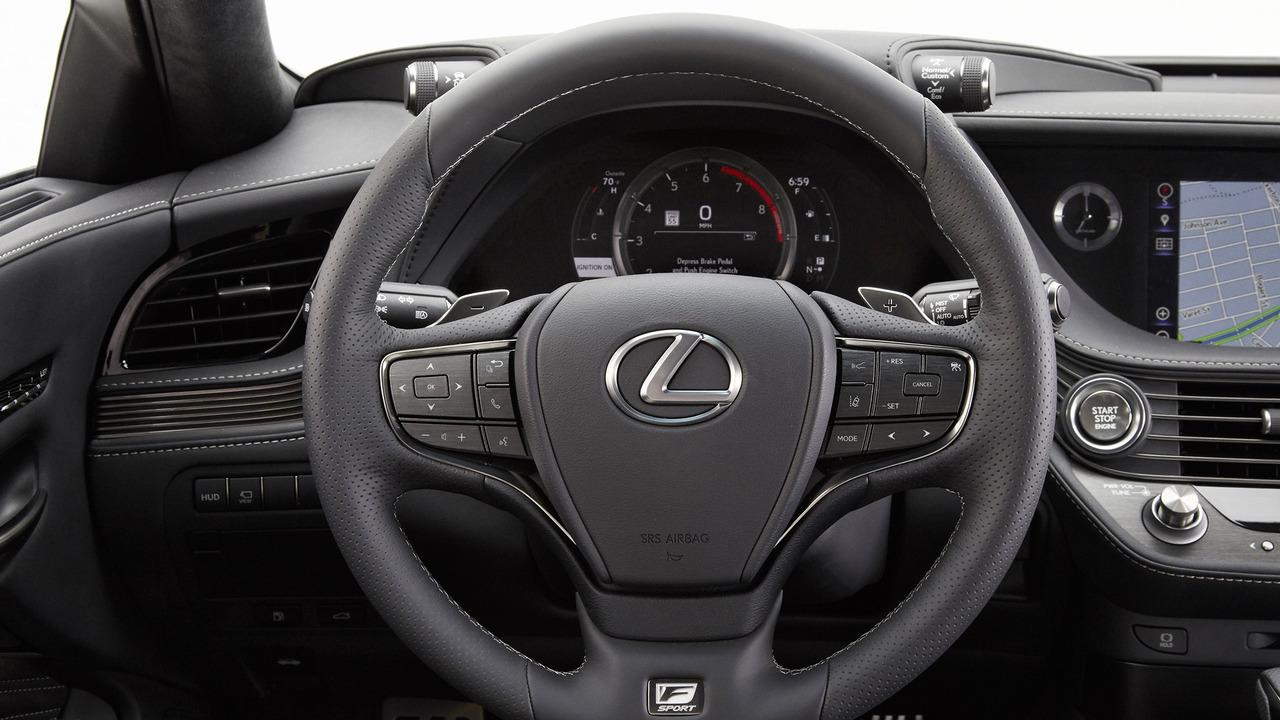 Nội thất xe Lexus LS500 2018