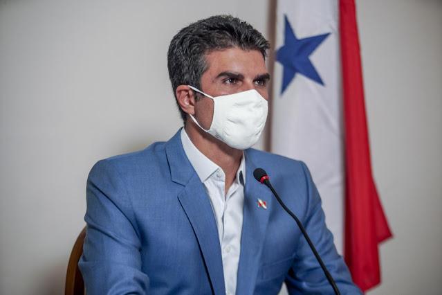 Governador Helder Barbalho descumpri decreto de Pandemia em Óbidos.