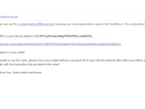 Butki Pembayaran Dari FreeBitcoin Baru Dapat Uang Dari Internet