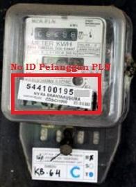 Cek ID Pelanggan PLN lewat meteran listrik