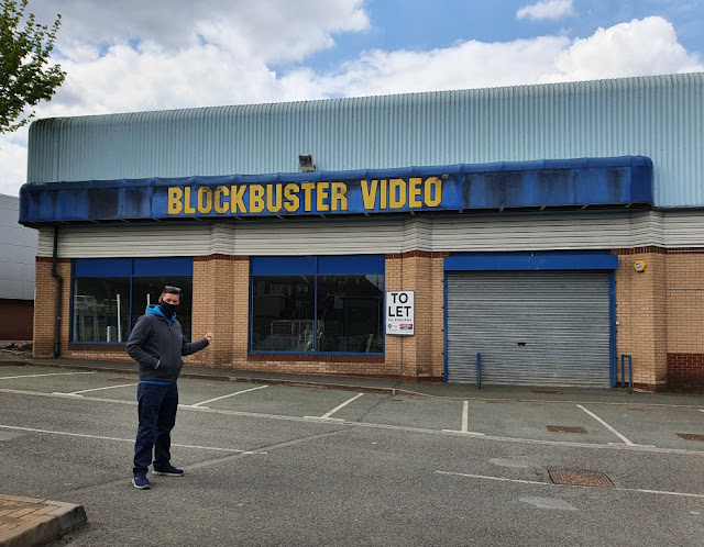 Blockbuster Video in Nuneaton, May 2021