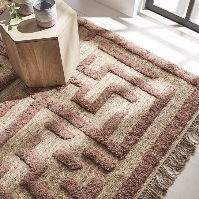 alfombra invierno, alfombra, leroy merlin, terracota, alfombra pelo corto, alfombra natural