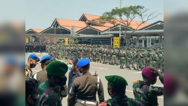 Imam Besar HRS Bakal Mendarat, 970 Personel TNI-Polri Dikerahkan ke Bandara Soetta