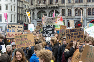 Thousands of school pupils take part in second march against climate change