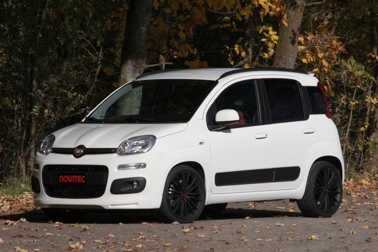 fiat panda by novitec car tuning styling. Black Bedroom Furniture Sets. Home Design Ideas