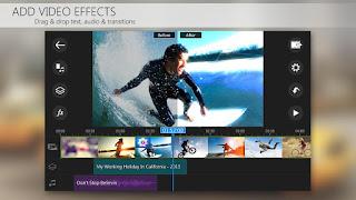 Aplikasi Edit Video Android Terbaik - Power Director