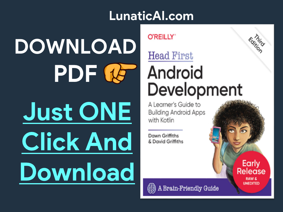 Head First Android Development, 3rd Edition PDF