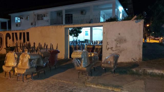 Ação conjunta, das Polícias Militar e Civil recuperam carga furtada em Patos