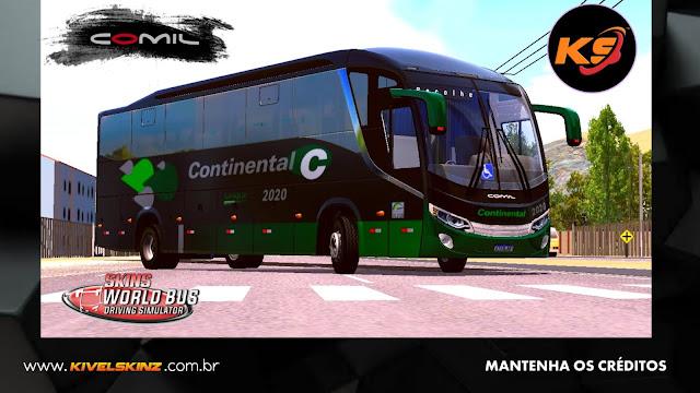 COMIL 1200 4X2 - VIAÇÃO CONTINENTAL