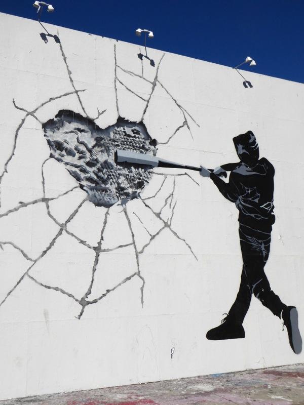 Keep doing what you Love HiJackArt mural